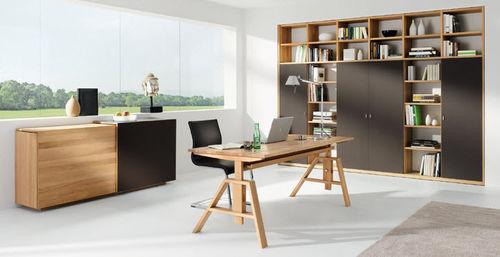 multimedia desk / oak / walnut / cherrywood