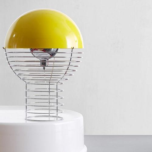 table lamp / original design / wire / plastic