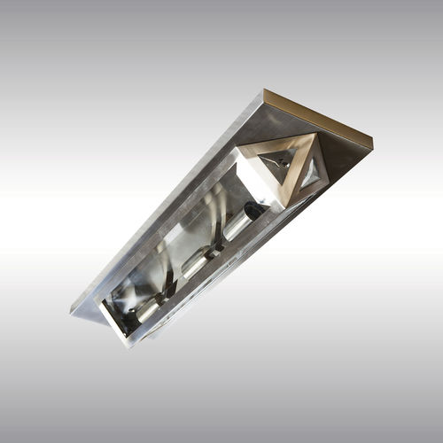 traditional ceiling light / glass / LED / incandescent