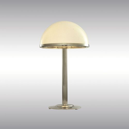 table lamp / traditional / glass / blown glass