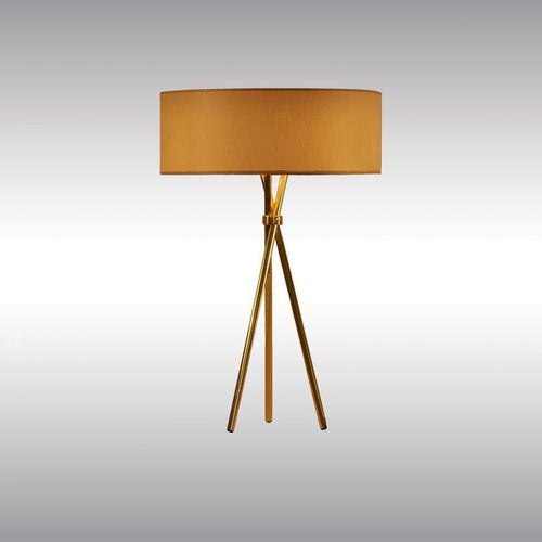 table lamp / traditional / cardboard / brass