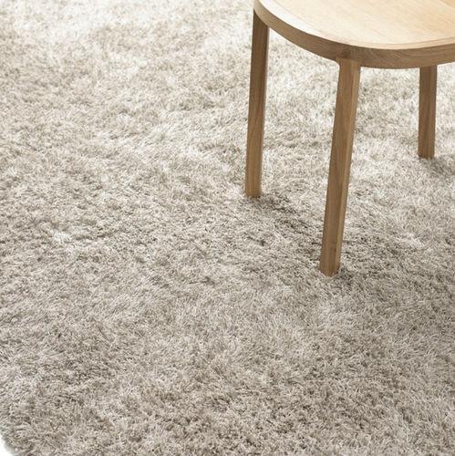 contemporary rug / plain / wool / linen