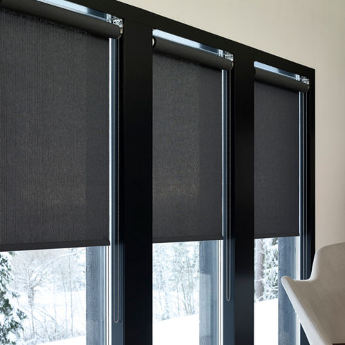roller blinds / cotton / paper yarn