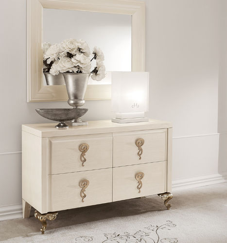 traditional chest of drawers / metal