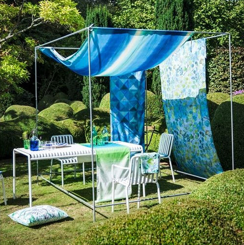 upholstery fabric / for curtains / solar protection / patterned