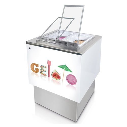 counter refrigerated display case
