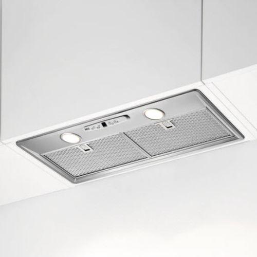 ceiling-mounted range hood / with built-in lighting