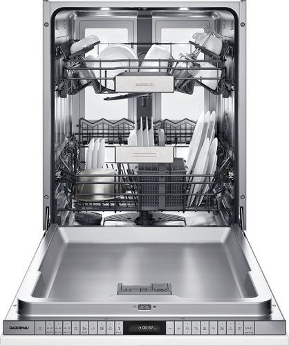 front-loading dishwasher / built-in / energy-efficient / European Eco-label