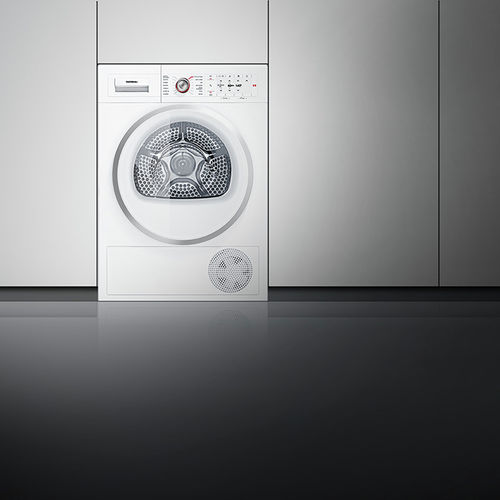 condenser dryer / free-standing / stackable / environmentally friendly