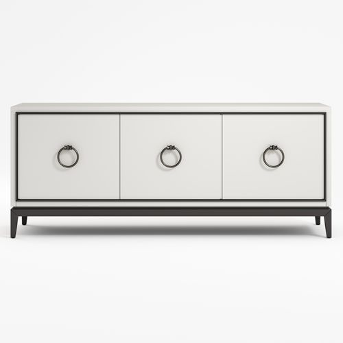 contemporary sideboard / lacquered wood / solid wood / eucalyptus