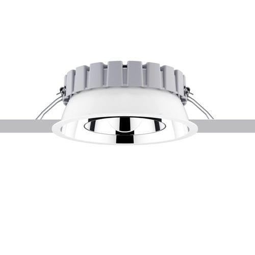 recessed ceiling downlight / LED / round / thermoplastic