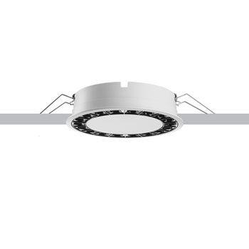Contemporary Ceiling Light Blade R Iguzzini Round Thermoplastic Led