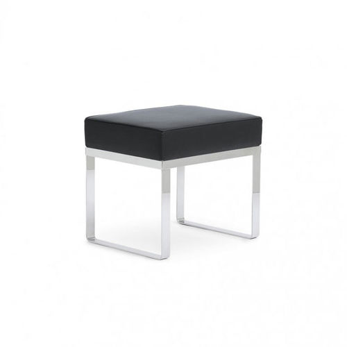 polished stainless steel shower stool
