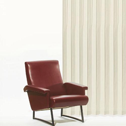 plain curtain / striped / pleated