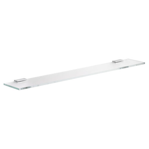 wall-mounted shelf / contemporary / glass / for hotel