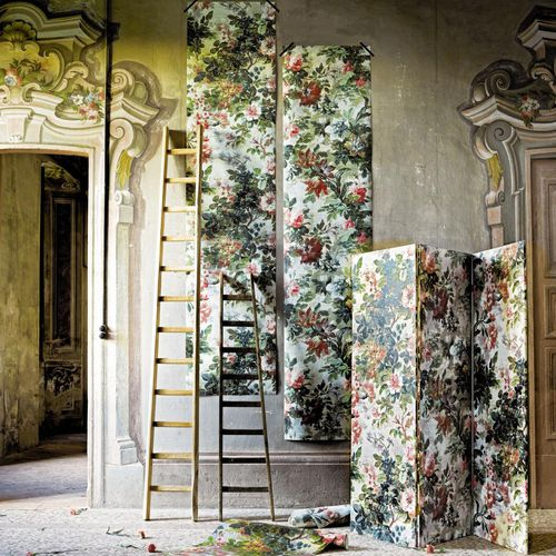fabric wallcovering / home / printed / interior