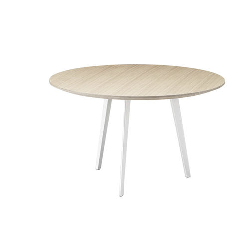 contemporary side table / MDF / plywood / steel