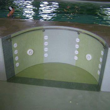 swimming pool hydromassage system