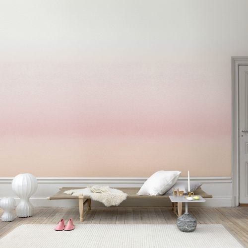 contemporary wallpaper / multi-color / pink / red