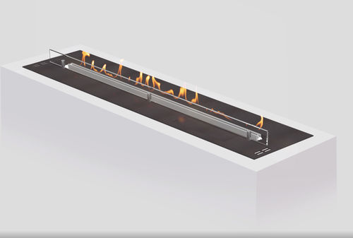 rectangular bioethanol burner