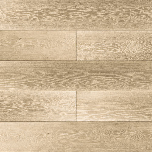 engineered parquet floor / glued / oak / brushed