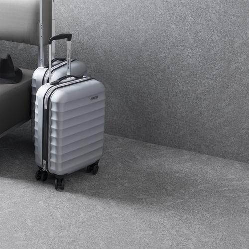 indoor flexible tile / floor / vinyl / rectangular