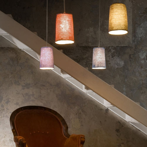 pendant lamp / contemporary / in Nebulite® / wool