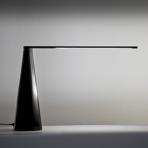 table lamp / contemporary / painted aluminum / adjustable