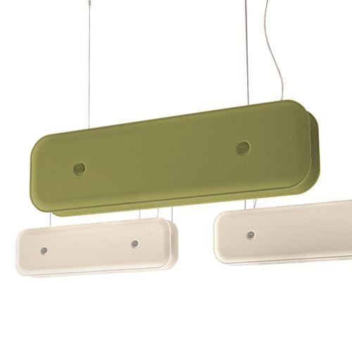 pendant lamp / contemporary / aluminum / fabric