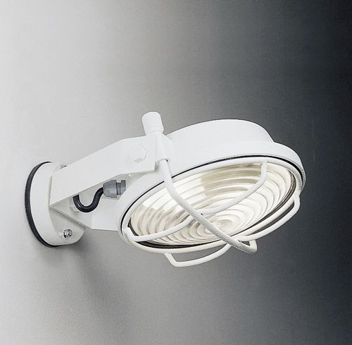 industrial style wall light / outdoor / stainless steel / LED