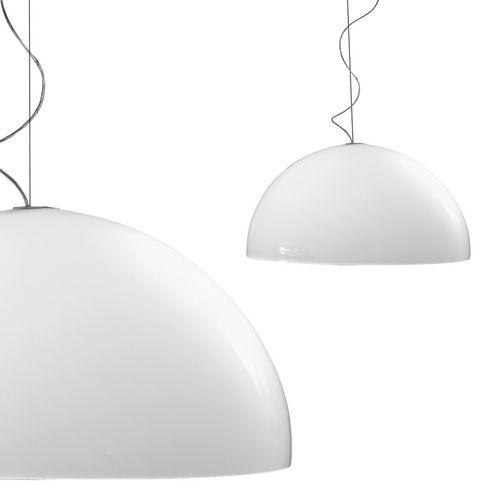 pendant lamp / original design / methacrylate / by Elio Martinelli