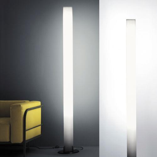contemporary light column / polycarbonate
