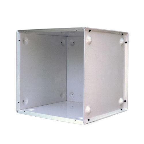 modular shelf / contemporary / metal / commercial