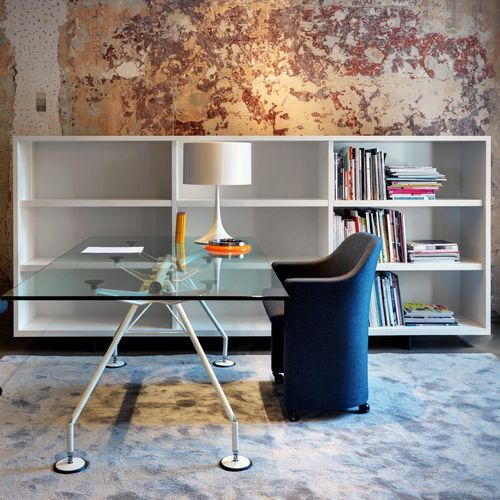 modular bookcase / contemporary / commercial / for offices