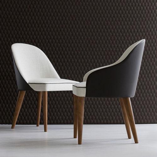 contemporary table and chair set - BERTO SALOTTI