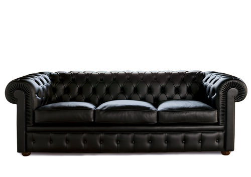 sofa bed / Chesterfield / fabric / leather