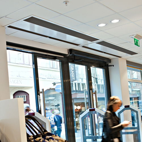 recessed air curtain / commercial