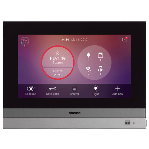 door home automation system / for shutters / for lighting / for interior
