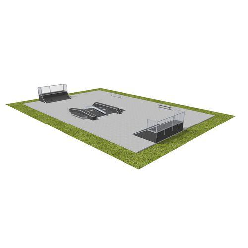 wooden skatepark / modular
