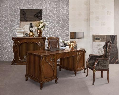multimedia desk / wooden / classic