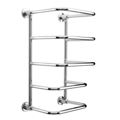 more than 3 bars towel rack / wall-mounted / chromed metal