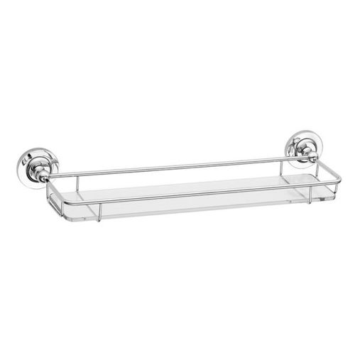 wall-mounted shelf / traditional / glass / commercial
