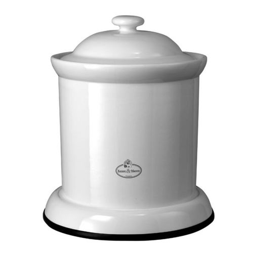 kitchen trash can / ceramic / contemporary / with built-in ashtray