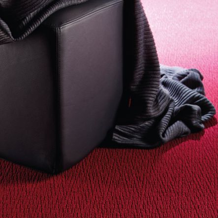 tufted carpet / structured / polyamide / home