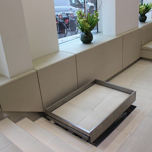 handicapped lifting platform / indoor