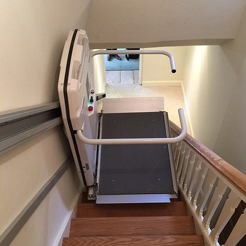 handicapped platform stair lift