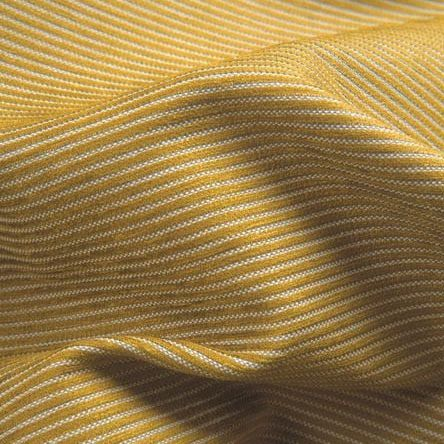 upholstery fabric / striped / polyester / cotton