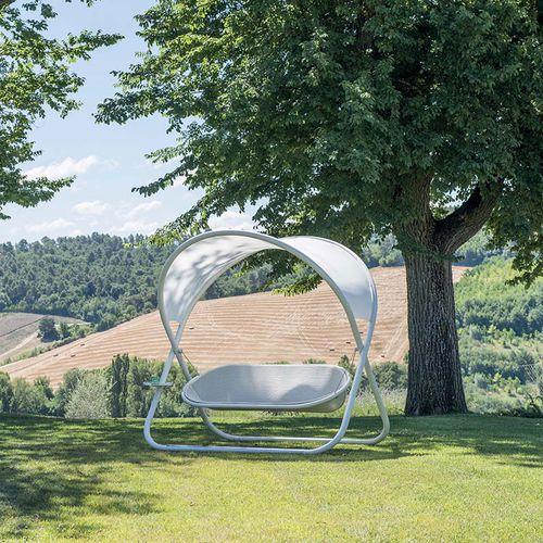 steel garden swing seat