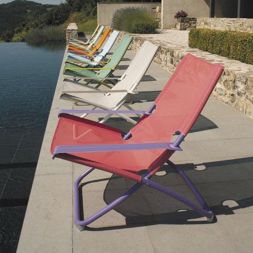 fabric deck chair