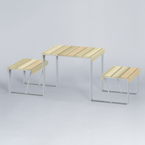 contemporary kids game table / outdoor / for public spaces
